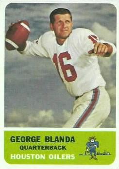 George Frederick Blanda An Afl Icon