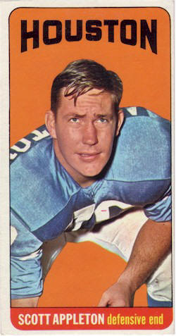 1965 Topps Oilers Cards
