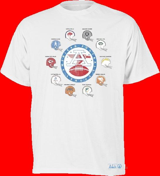 Reebok AFL History T-Shirt from FootballFanatics 05c8575e9
