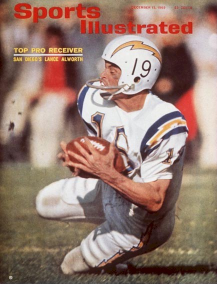 Lance Alworth Catching Peter King on t...