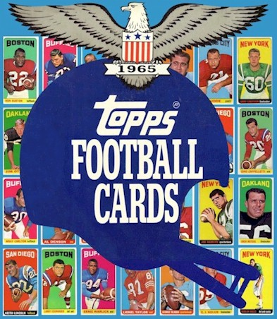 1965 Topps Patriots Cards
